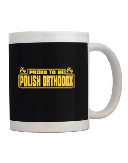 Proud To Be Polish Orthodox Mug
