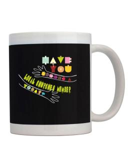 Have You Hugged A Local Churches Member Today? Mug