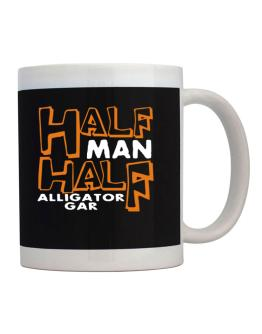 Half Man , Half Alligator Gar Mug