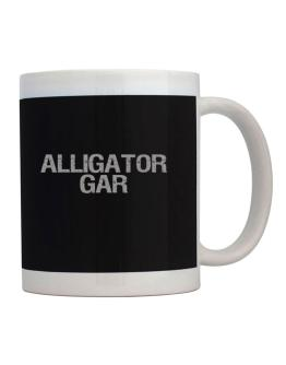 Alligator Gar - Vintage Mug