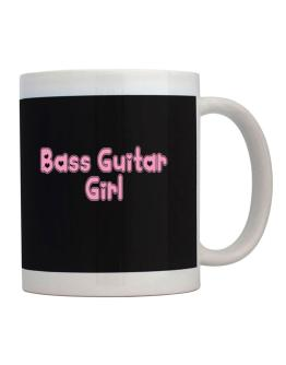 Bass Guitar Girl Mug