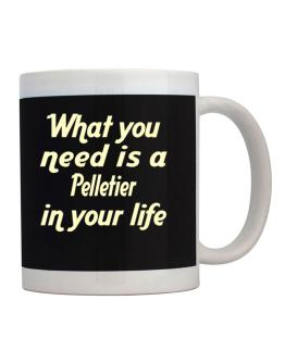 What You Need Is An Pelletier Mug