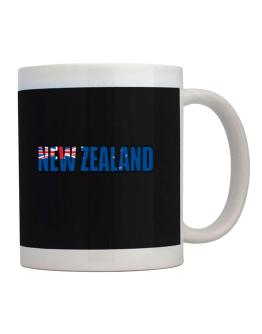 Taza de  New Zealand Flag