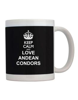 Keep calm and love Andean Condors Mug