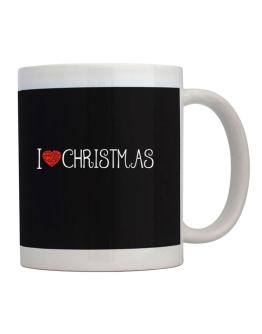 I love Christmas cool style Mug