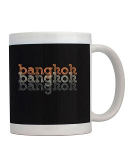 Bangkok repeat retro Mug