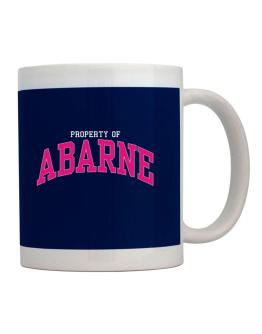 Property Of Abarne Mug