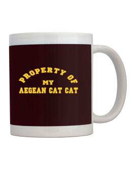 Property Of My Aegean Cat Mug