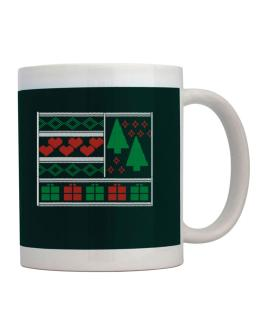 Ugly christmas gifts trees Mug