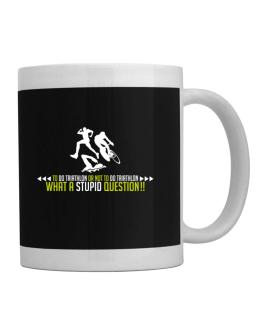 To do Triathlon or not to do Triathlon, what a stupid question!! Mug
