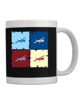 """ Aerobatics - Pop art "" Mug"