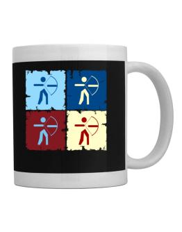 Archery - Pop Art Mug