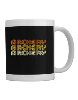 Archery Retro Color Mug
