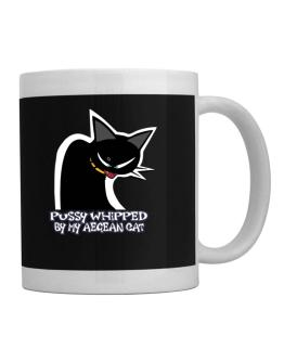 Pussy Whipped By My Aegean Cat Mug