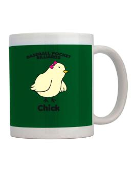 Baseball Pocket Billiards Chick Mug