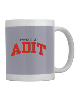 Property Of Adit Mug