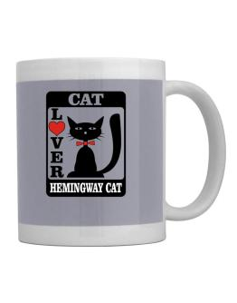 Cat Lover - Hemingway Cat Mug