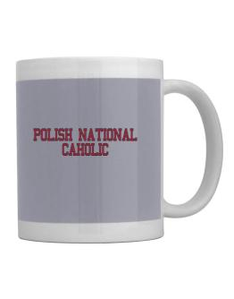 Polish National Caholic - Simple Athletic Mug