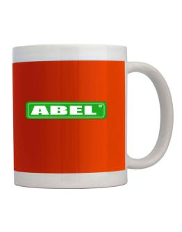 Abel Street men names sign 3 Mug