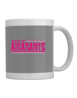 Property Of Amarante - Vintage Mug
