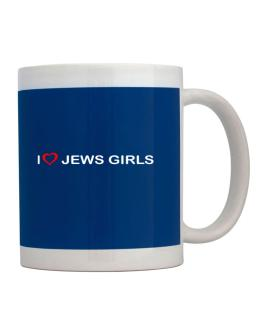 I love Jews Girls Mug