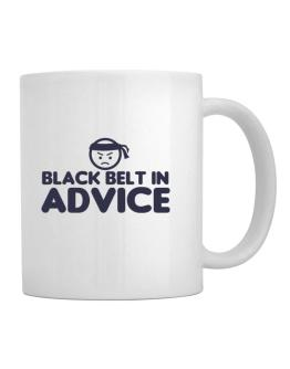 Black Belt In Advice Mug