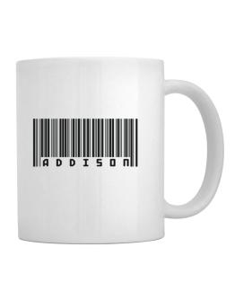Bar Code Addison Mug