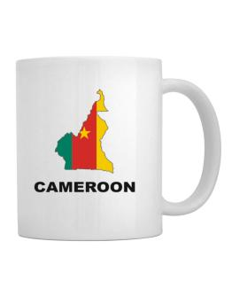 Cameroon - Country Map Color Mug