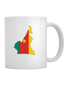 Cameroon - Country Map Color Simple Mug