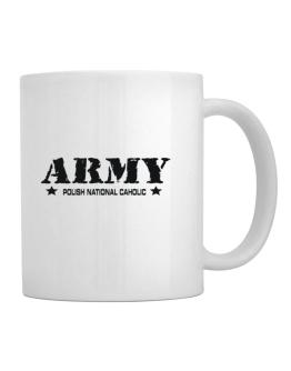 Army Polish National Caholic Mug