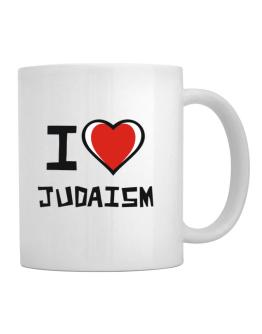 I Love Judaism Mug