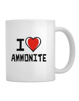 I Love Ammonite Mug