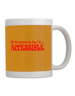 All the rumours accessible Mug