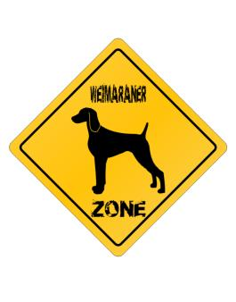 Crossing Sign de Weimaraner Zone - Silhouette
