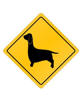 Dachshund Crossing Sign Crossing Sign