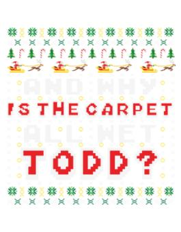 And why is the carpet all wet Todd? Parking Sign