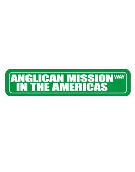 Anglican Mission In The Americas Way Street Sign