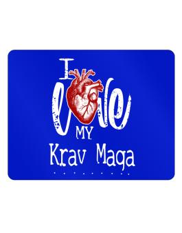 I love my Krav Maga hearts Parking Sign - Horizontal
