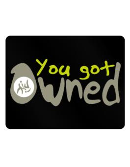 You Got Owned Aikido Parking Sign - Horizontal