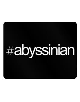 Hashtag Abyssinian Parking Sign - Horizontal