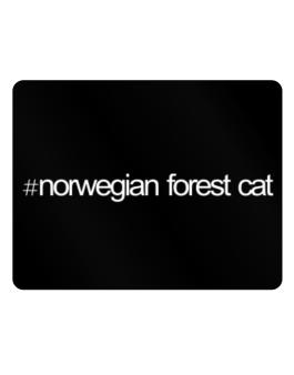 Hashtag Norwegian Forest Cat Parking Sign - Horizontal