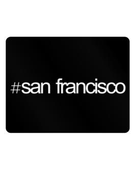 Hashtag San Francisco Parking Sign - Horizontal