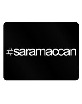Hashtag Saramaccan Parking Sign - Horizontal