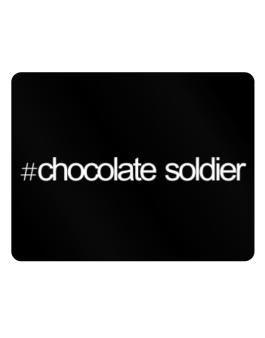 Hashtag Chocolate Soldier Parking Sign - Horizontal