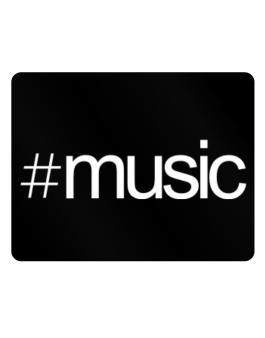 Hashtag Music Parking Sign - Horizontal