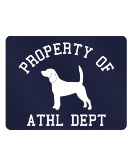 """ PROPERTY OF Beagle "" Parking Sign - Horizontal"