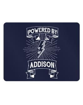 Powered by Addison Parking Sign - Horizontal