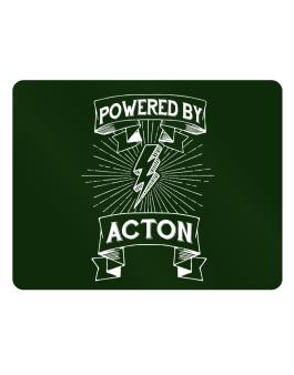 Powered by Acton Parking Sign - Horizontal