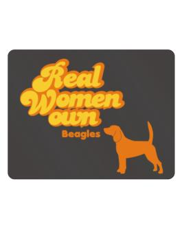 Real Woman own Beagles Parking Sign - Horizontal