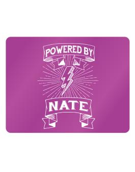 Powered by Nate Parking Sign - Horizontal